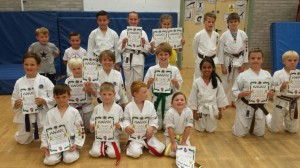 Junior Kyu Grading